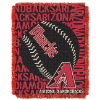 MLB Arizona Diamondbacks 48x60 Triple Woven Jacquard Throw