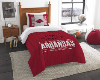 NCAA Arkansas Razorbacks Twin Comforter Set