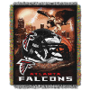 NFL Atlanta Falcons Home Field Advantage 48x60 Tapestry Throw