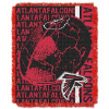 NFL Atlanta Falcons SPIRAL 48x60 Triple Woven Jacquard Throw
