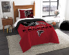 NFL Atlanta Falcons Twin Comforter Set