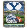 NCAA BYU Cougars Home Field Advantage 48x60 Tapestry Throw