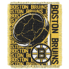NHL Boston Bruins 48x60 Triple Woven Jacquard Throw