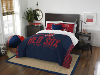 MLB Boston Red Sox QUEEN Comforter and 2 Shams
