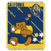 NCAA California Golden Bears Baby Blanket