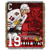 NHL Chicago Blackhawks Johnathan Toews 48x60 Tapestry Throw