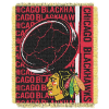 NHL Chicago Blackhawks 48x60 Triple Woven Jacquard Throw