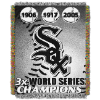 MLB Chicago White Sox Commemorative 48x60 Tapestry Throw