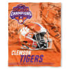 NCAA Clemson Tigers NCAA Football Champions 50x60 Silk Touch Blanket
