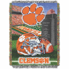 NCAA Clemson Tigers Home Field Advantage 48x60 Tapestry Throw