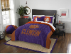 NCAA Clemson Tigers QUEEN Comforter and 2 Shams
