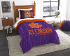 NCAA Clemson Tigers Twin Comforter Set