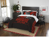NFL Cleveland Browns QUEEN Comforter and 2 Shams