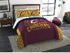 NBA Cleveland Cavaliers QUEEN Comforter and 2 Shams