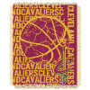 NBA Cleveland Cavaliers 48x60 Triple Woven Jacquard Throw