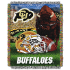NCAA Colorado Buffaloes Home Field Advantage 48x60 Tapestry Throw