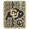 NCAA Colorado Buffaloes FOCUS 48x60 Triple Woven Jacquard Throw