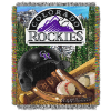 MLB Colorado Rockies Home Field Advantage 48x60 Tapestry Throw