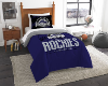 MLB Colorado Rockies Twin Comforter Set