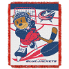 NHL Columbus Blue Jackets Baby Blanket