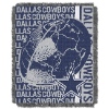 NFL Dallas Cowboys SPIRAL 48x60 Triple Woven Jacquard Throw