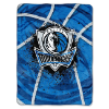 NBA Dallas Mavericks FIERCE 60x80 Super Plush Throw