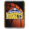 NBA Denver Nuggets Real Photo 48x60 Tapestry Throw