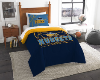 NBA Denver Nuggets Twin Comforter Set