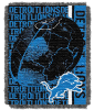 NFL Detroit Lions SPIRAL 48x60 Triple Woven Jacquard Throw