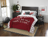 NHL Detroit Red Wings QUEEN Comforter and 2 Shams