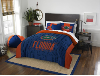 NCAA Florida Gators QUEEN Comforter and 2 Shams