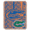 NCAA Florida Gators FOCUS 48x60 Triple Woven Jacquard Throw