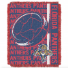 NHL Florida Panthers 48x60 Triple Woven Jacquard Throw