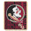 NCAA Florida State Seminoles FOCUS 48x60 Triple Woven Jacquard Throw