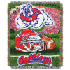 NCAA Fresno State Bulldogs Home Field Advantage 48x60 Tapestry Throw