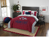 NCAA Fresno State Bulldogs QUEEN Comforter and 2 Shams