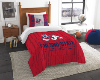 NCAA Fresno State Bulldogs Twin Comforter Set