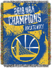 NBA Golden State Warriors 2018 NBA Finals Champions Commemorative Tapestry