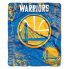 NBA Golden State Warriors REFLECT 50x60 Raschel Throw