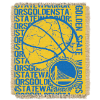 NBA Golden State Warriors 48x60 Triple Woven Jacquard Throw