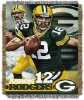 NFL Green Bay Packers Aaron Rodgers 48x60 Tapestry Throw