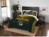 NFL Green Bay Packers QUEEN Comforter and 2 Shams