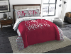 NBA Houston Rockets QUEEN Comforter and 2 Shams