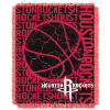NBA Houston Rockets 48x60 Triple Woven Jacquard Throw