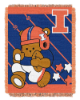 NCAA Illinois Fighting Illini Baby Blanket