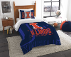 NCAA Illinois Fighting Illini Twin Comforter Set