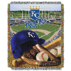 MLB Kansas City Royals Home Field Advantage 48x60 Tapestry Throw