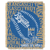 MLB Kansas City Royals 48x60 Triple Woven Jacquard Throw