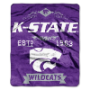 NCAA Kansas State Wildcats 50x60 Raschel Throw Blanket