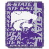 NCAA Kansas State Wildcats FOCUS 48x60 Triple Woven Jacquard Throw